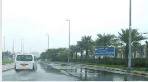 طقس غائم مع تساقط امطار غزيرة يومي الاربعاء والخميس المقبلين والحرارة (21)مْ