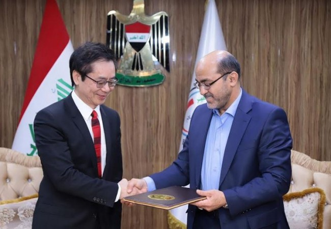 توقيع مذكرة تفاهم لتنفيذ قطار بغداد المعلق