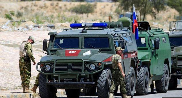 تمرين عسكري روسي – سوري في الجولان
