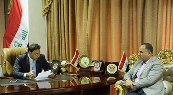 الكعبي يدعو وزارة الشباب للإسراع بأرسال القوانين الرياضية لإقرارها في البرلمان