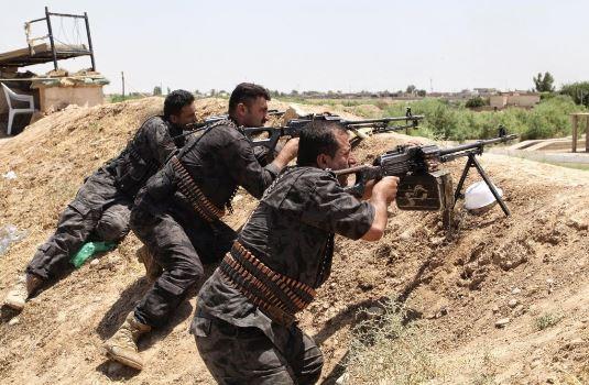 الجيش والحشد الشعبي يواصلون عملياتهم في محور الانبار