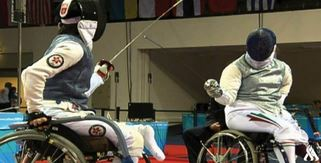 العراق يشارك في بطولة العالم للمبارزة على الكراسي