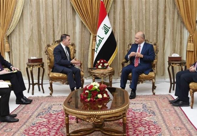 صالح: المنطقة بحاجة الى حوارات بناءة لتثبيت الاستقرار