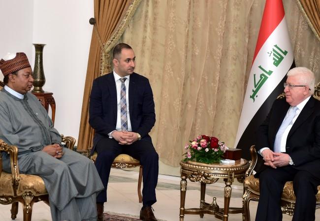 معصوم لأمين أوبك: العراق يعتمد على النفط بمحاربة داعش ويحتاج لدعم الاسعار