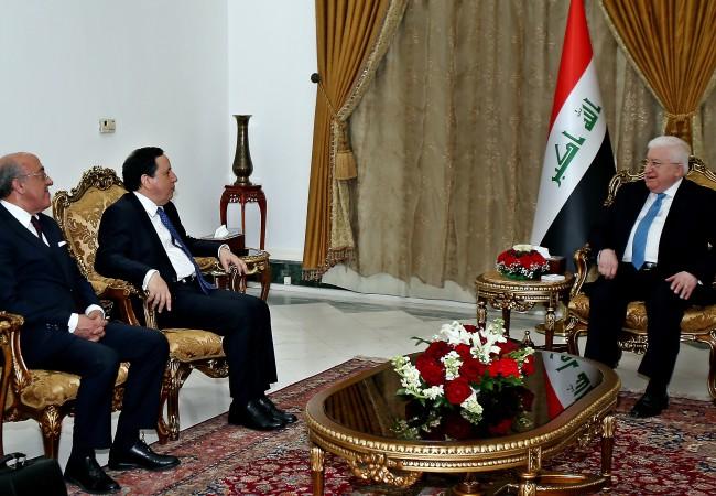 رئيس الجمهورية: الارهاب في العراق يقترب من نهايته