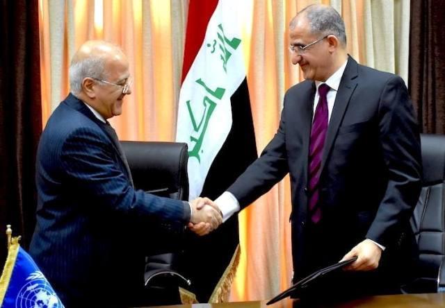 العراق والأمم المتحدة يوقعان اتفاقية لتأسيس صندوق لتمويل الإصلاح الاقتصادي