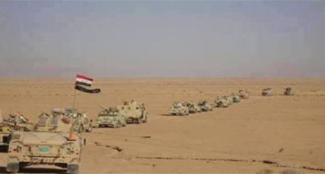 اطواق امنية تحيط ببغداد والقوات المشتركة والحشد الشعبي تتقدم في جنوب الرمادي