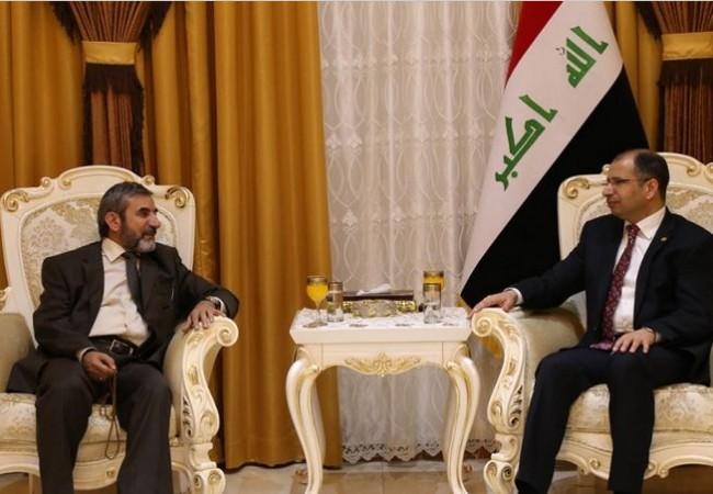 الجبوري والامين العام للاتحاد الاسلامي الكردستاني يبحثان أهمية تعزيز الجهد الأمني في كركوك