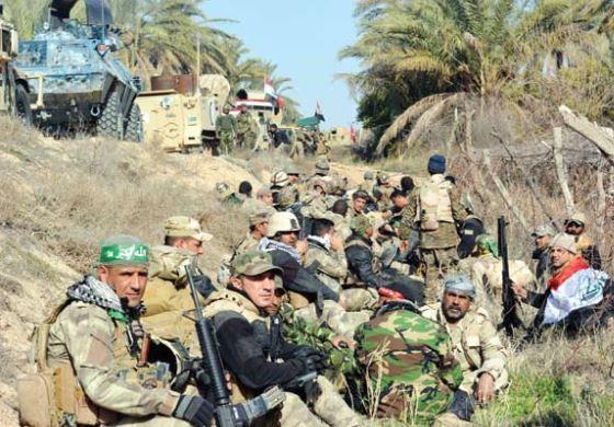 العامري: ماضون في تحقيق النصر على داعش وتمكنّا من تحقيق انجازات كبيرة في معاركنا