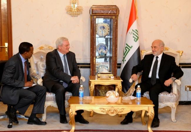 وزير الخارجية يدعو لدور مهم للأمم المتحدة في حشد الدول لمساعدة النازحين