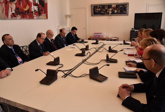 وزير الخارجية: العلاقات مع السويد تصلح أن تكون قاعدة لتطويرها مع دول أوروبية