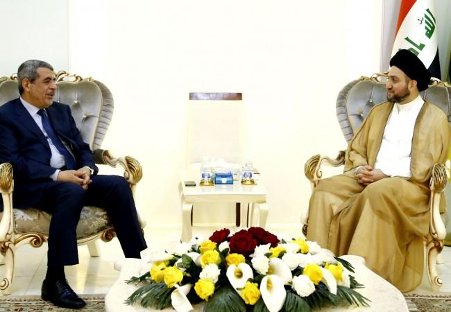 السيد الحكيم : المشكلة العراقية تحتاج إلى حلول أمنية وسياسية ومجتمعية وبناء دولة المؤسسات