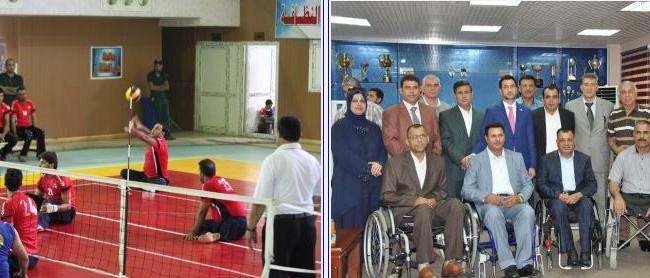 وسام المجد يُتوج بدوري العراق لكرة الطائرة البارالمبية