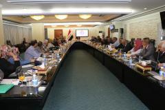 وزير الاعمار ترأس الاجتماع الـ(15) لمشروع مدونات البناء والمواصفات الفنية العراقية والكودات العربية الموحدة