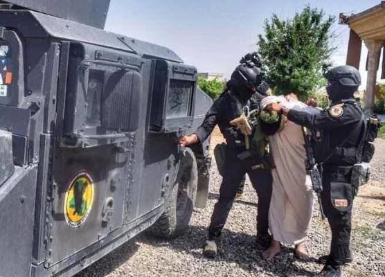 القبض على ثلاثة ارهابيين من الخلايا النائمة لداعش بكركوك