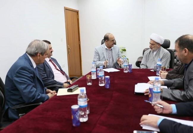 الشيخ حمودي يشدد على الإسراع باقرار قانون الاستثمار وتقليل البطالة