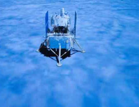 عينات من سطح القمر تصل إلى الصين