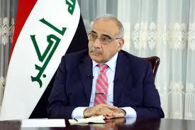السيد عادل عبدالمهدي يعزي بوفاة اللاعب الدولي احمد راضي