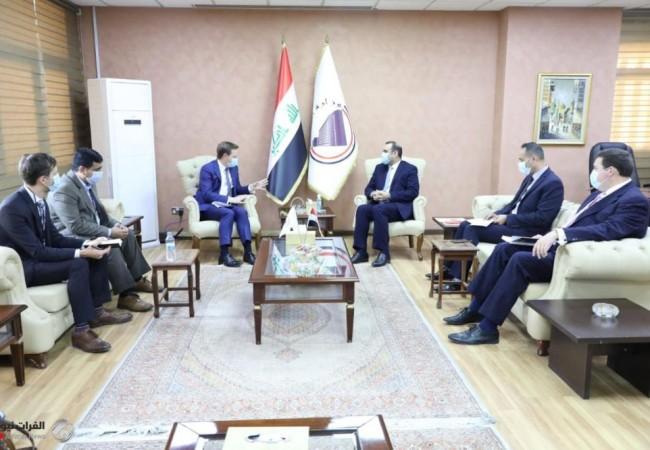 العراق وبريطانيا يبحثان التعاون الاقتصادي والاستثماري بين البلدين