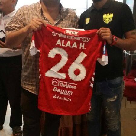 نادي زاخو يضم حسين علاء رسميا