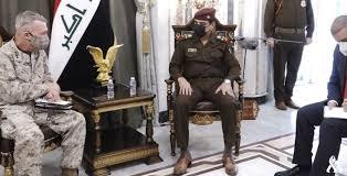 يار الله وقائد القيادة المركزية الامريكية يبحثان التعاون العسكري المشترك
