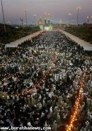 العتبتان الحسينية والعباسية المقدستان تطلقان حملة كبرى لتنظيف مدينة كربلاء