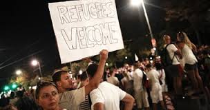 الآلاف يتظاهرون في فيينا تضامنا مع اللاجئين
