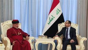 الجبوري يؤكد لبطريرك كنيسة المشرق اهمية تعزيز الاخوة والتعاون بين ابناء الشعب