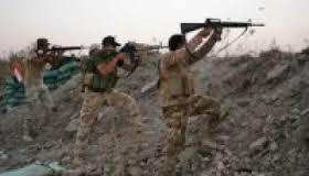 التدخل السريع الاولى تقتل 17 داعشياً شرقي الفلوجة