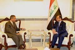 الجبوري يؤكد للسفير المصري اهمية تنسيق الجهود لمواجهة الارهاب
