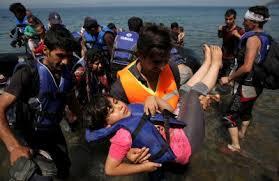 إنقاذ 148 مهاجرًا سوريًا من الغرق في بحر إيجه