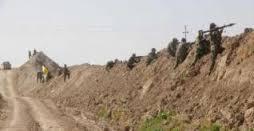ابطال الحشد الشعبي يصدون هجوماً لداعش بقذائف الهاون غرب سامراء