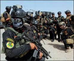 فرقة التدخل السريع الاولى تقتل 9 دواعش وتدمر عجلات تابعة لهم في الكرمة