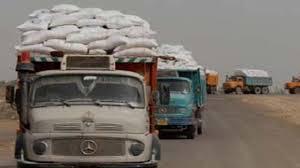 التجارة تعلن اليات جديدة للتعاقد لنقل مادة الطحين في بغداد والمحافظات