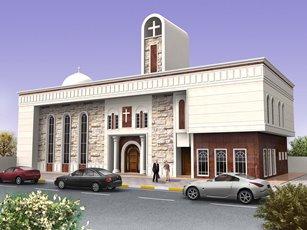 الاعمار الهندسي تنجز تصاميم كنيسة السلطانة الوردية في بغداد