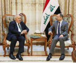 الجبوري يبحث مع السفير الجزائري العلاقات الثنائية بين البلدين