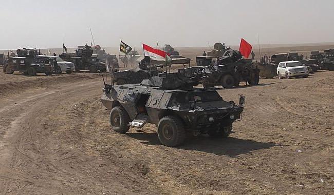 جحافل الشرطة الاتحادية تندفع باتجاه أيمن الموصل