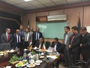 العراق يبرم مذكرة تفاهم مع ايران لانشاء خطوط انتاج في الصناعة الحربية