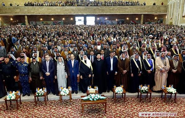 السيد عمار الحكيم: التسوية الوطنية ماضية ولا تراجع عن الدستور والعملية السياسية