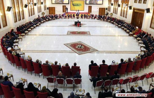 السيد عمار الحكيم: التسويةَ مشروع التحالف الوطني وماضون بتوسيعِ دائرة تأييدها
