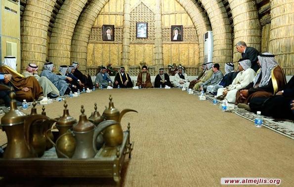 السيد عمار الحكيم يشدد على ضرورة الذهاب الى تسوية وطنية شاملة ومطمئنة للجميع وبصناعة عراقية