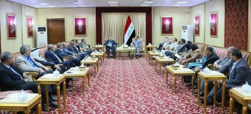 الجبوري يبحث مع قادة ونواب تحالف القوى ورقتي الإصلاح الحكومية والنيابية