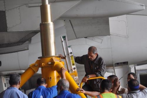إجراء فحص {CHA2} على طائرة الأيرباص للمرة الاولى في العراق