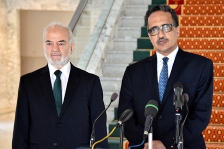 الجعفري يختتم زيارته الى نواكشوط ويوجه الدعوة للرئيس الموريتاني لزيارة العراق