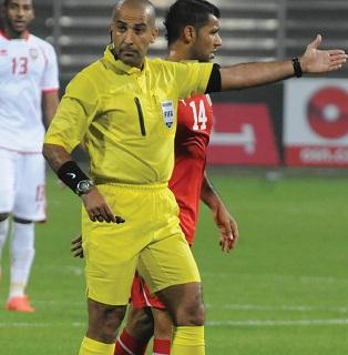 طاقم تحكيم عراقي يقوم مباراة الذهاب بربع نهائي كأس الاتحاد الآسيوي