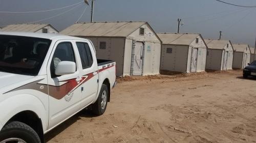 العتبة العلوية المقدسة تساهم ببناء مئة وحدة سكنية للنازحين