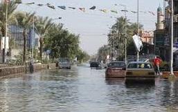 خدمات بغداد تطلع على إجراءات تجنيب شرقي بغداد من الغرق