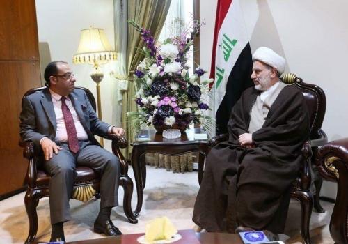 الشيخ حمودي يدعو الدول العربية الى تعزيز حقوق الانسان في المناهج الدراسية