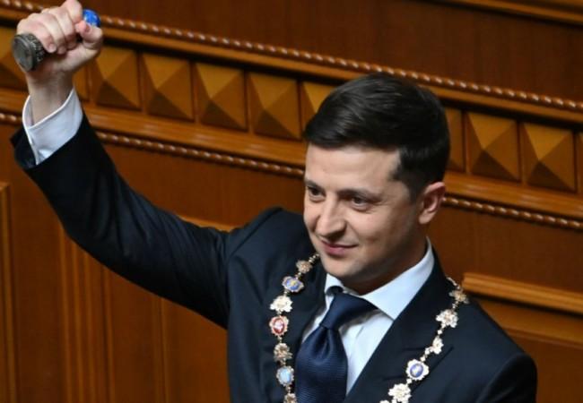 تعهد خلال تنصيبه إحلال السلام ولو خسر منصبه رئيساً لأوكرانيا