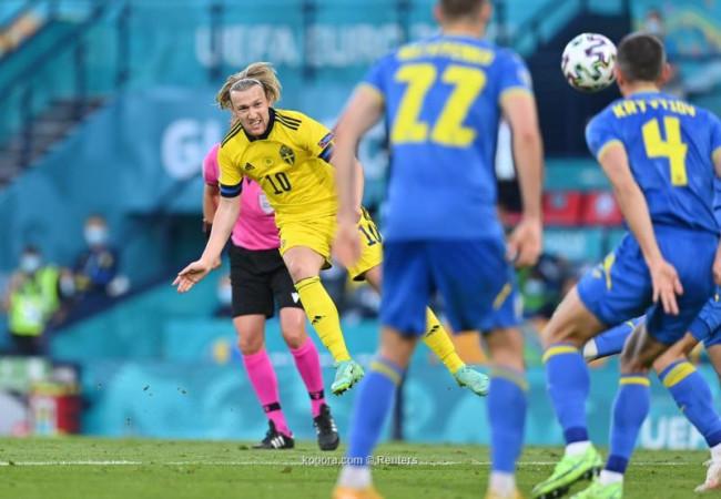 أوكرانيا تقهر السويد بهدف ذهبي وتضرب موعدا مع إنجلترا